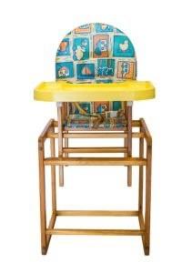 Dětská dřevěná jídelní židle