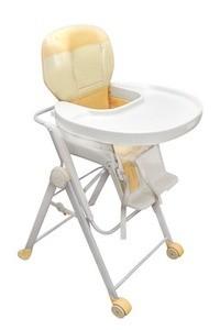 Dětská plastová jídelní židle