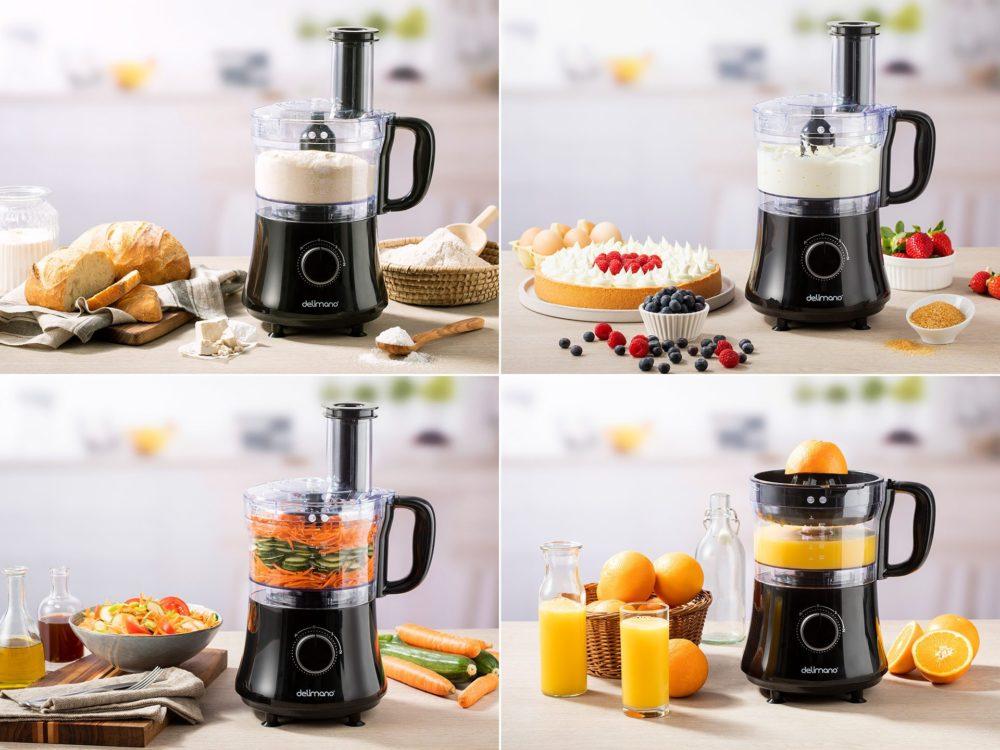 Multifunkční kuchyňský robot Delimano 7 v 1