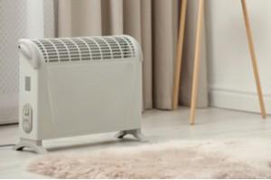 Ohřívač: Elektrický konvektorový ohřívač, přenosný