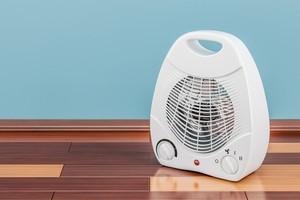 Teplovzdušný ohřívač - ventilátor