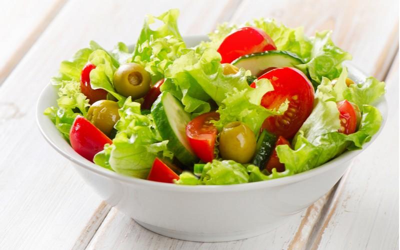 Miska se salátem
