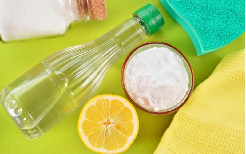 Ocet, soda a citron