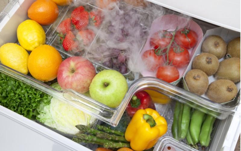 Ovoce a zelenina v chladničce