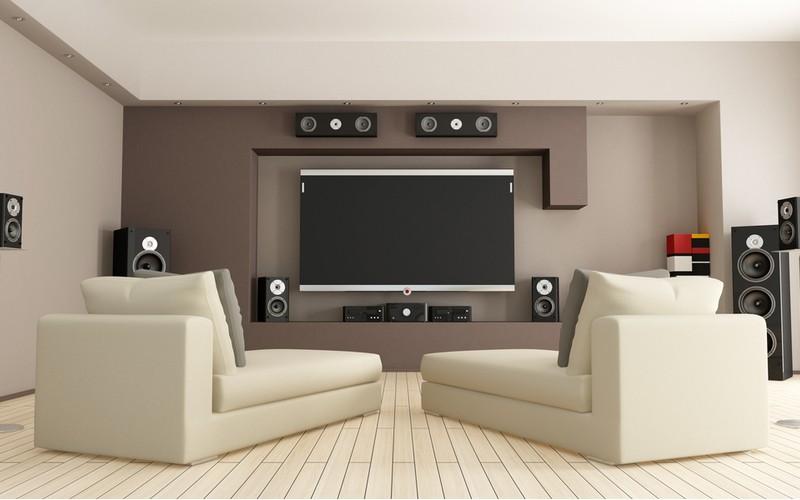 velke domaci kino rozmístěny v obýváku