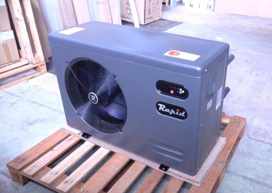 elektrické tepelné čerpadlo pro bazény