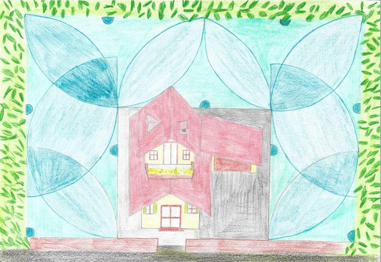 Nákres závlahy rodinného domu