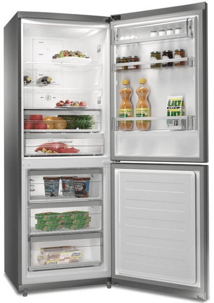 otevřená naplněna lednička Whirlpool B TNF 5323 OX