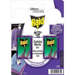 Raid háček proti šatním molům s vůní levandule 2 ks