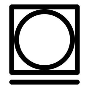 Symbol - vhodné do sušičky