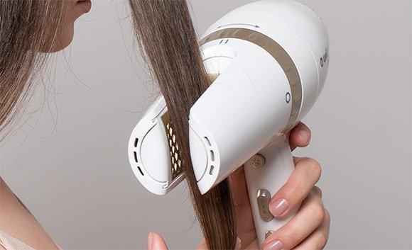Fén Wellnea 2v1 AirPro - sušení vlasů tunelovým způsobem