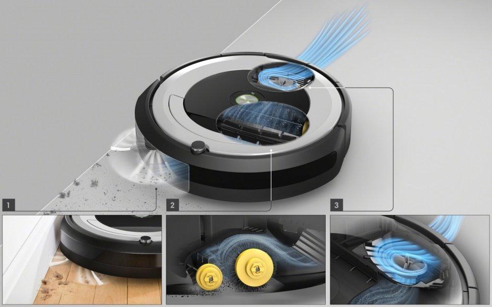 iRobot Roomba e5 - čistící systém AeroForce