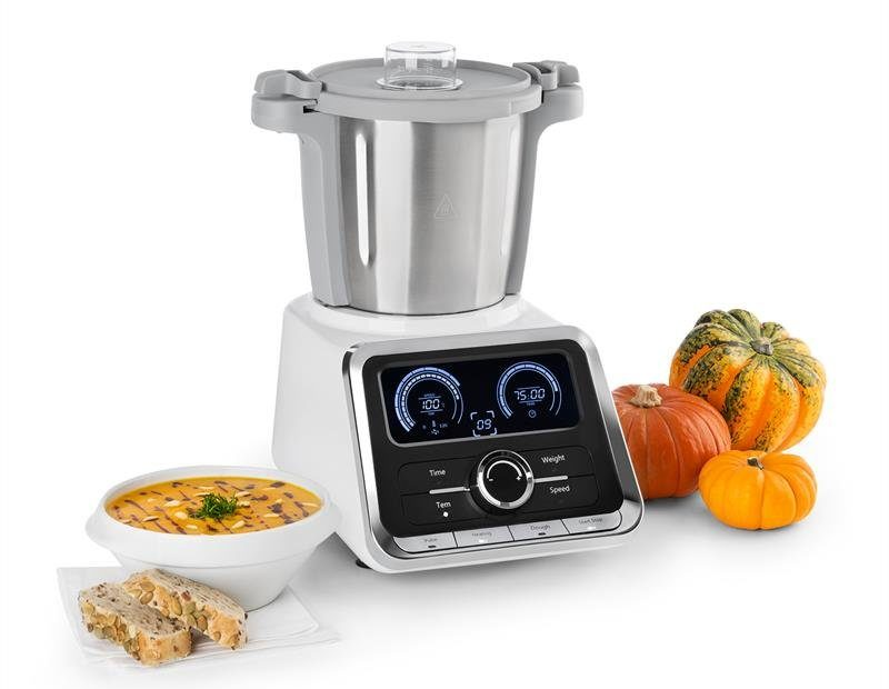 Klarstein GrandPrix připravil dýňovou polévku