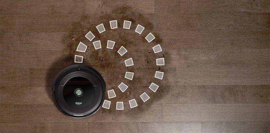 Režim SPOT pro lokální úklid - Roomba 696