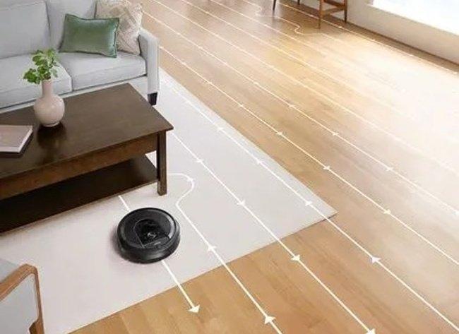 Senzory robotického vysavače