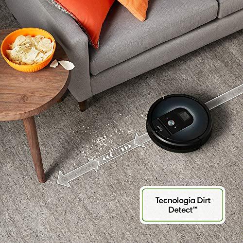 Vysavač detekuje nečistoty pomocí Funck Dirt Detect