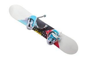 barevný snowboard