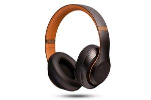 Černo oranžové sluchátka