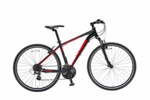 Červeno černé horské kolo - Jízdní kola