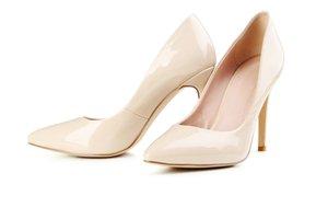 Dámské béžové lodičky - Dámské boty