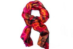 Dámský barevný šátek