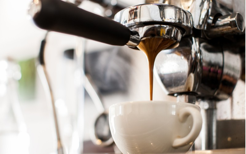 Espresso z portafiltru
