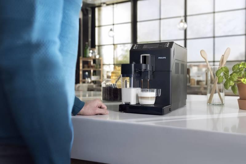 Kávovar Philips Saeco EP3550 příprava nápoje