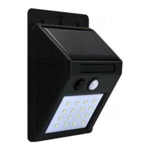 LED Solární nástěnné svítidlo se senzorem LED/2,2W IP44