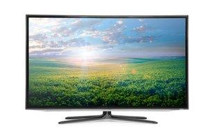 Moderní barevný televizor