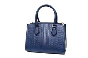 Modrá dámská kabelka - kabelky