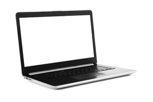 otevřený notebook