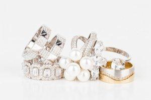 Prsteny z bílého a žlutého zlata - Šperky