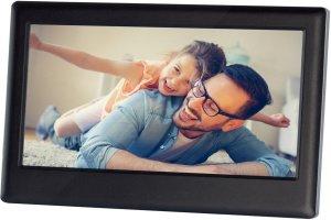 Rodinka na digitálním fotorámečku