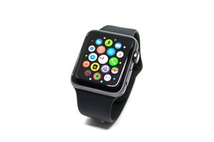 Černé smart hodinky pro dámy
