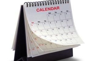 stolní kalenedár