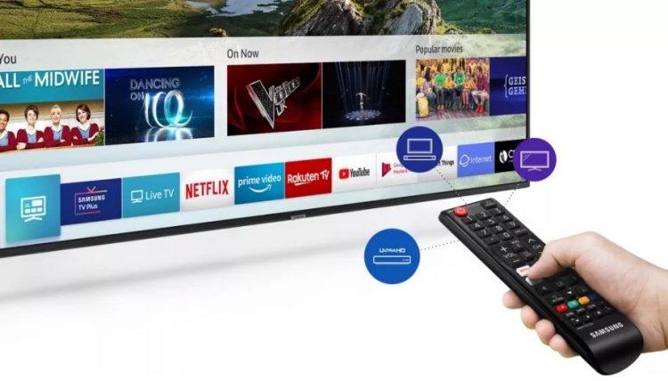 Dálkový ovladač One Remote Experience k televizoru Samsung UE43RU7172.