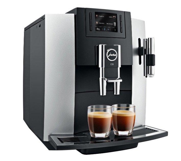 Jura E8 automatický kávovar