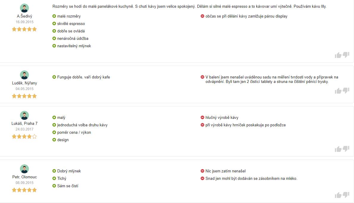Krups EA 815070 hodnocení zákazníků