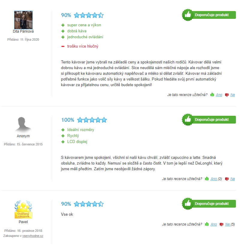 Krups EA815070 recenze zákazníků