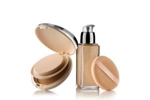 make-up a otevřený pudr