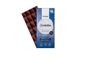 mléčná čokoláda v modrém obalu