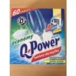 Q-Power tablety do myčky 60 ks