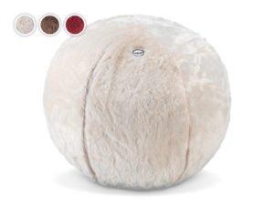 Bílý masážní polštář Cosy Wellnea