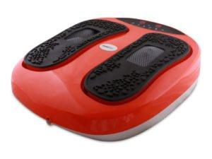 Masážní červený akupresurní přístroj Wellnea