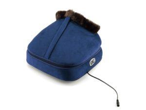 Modrý masážní přístroj na nohy