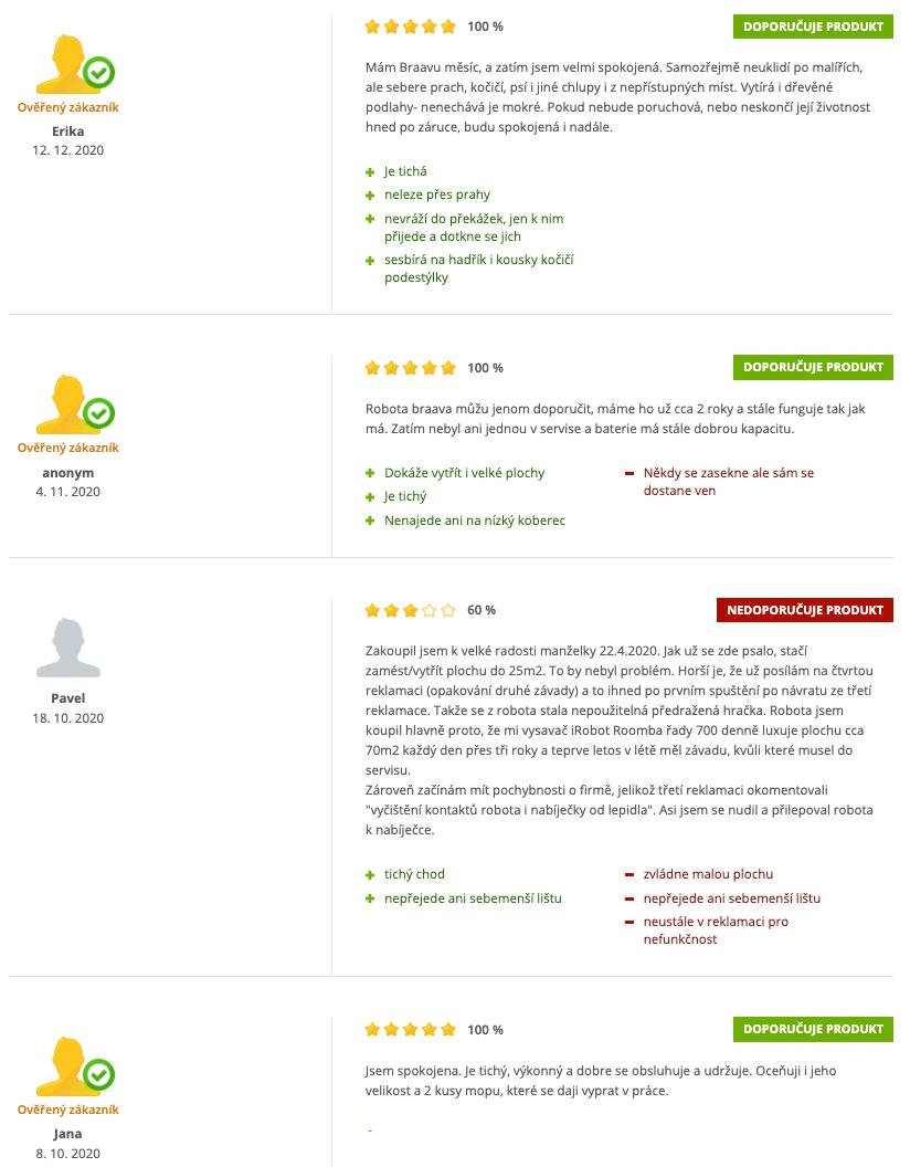 iRobot Braava 390 T recenze