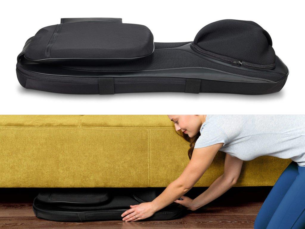 Masážní podložka zad a nohou Shiatsu 4v1 - uskladnění