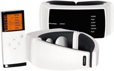 Masážní přístroj na krk na dálkové ovládání