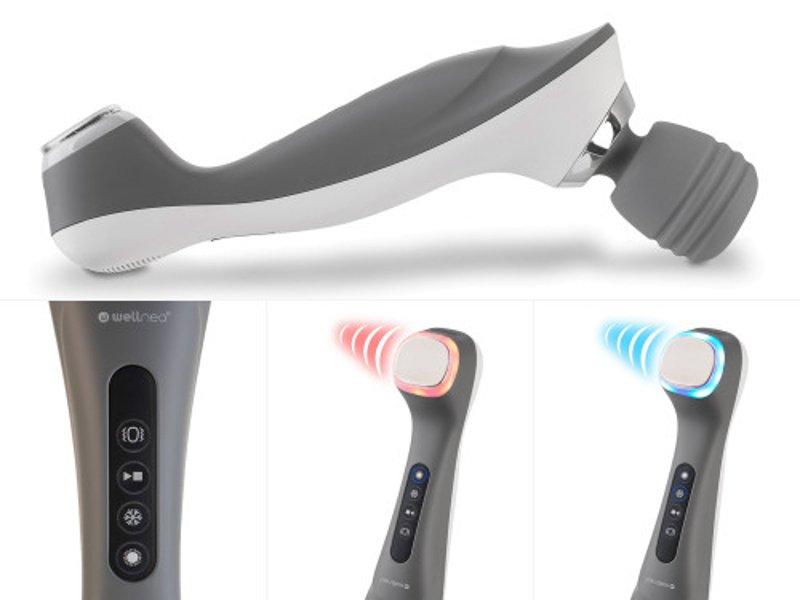 Masážní přístroj Wellneo 3v1 Pro a termoterapie