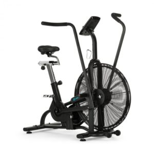 Strike Bike, domácí trenažér, kardio, ventilační odpor, BT, černý